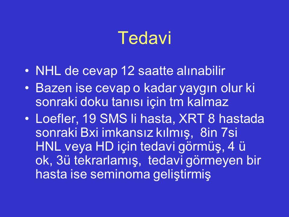 Tedavi NHL de cevap 12 saatte alınabilir