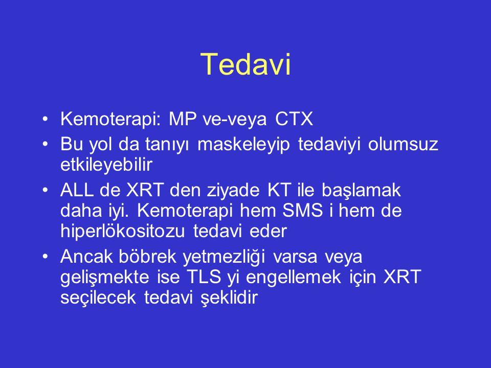Tedavi Kemoterapi: MP ve-veya CTX