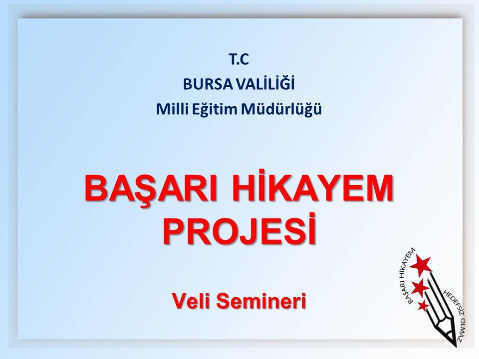 Milli Eğitim Müdürlüğü BAŞARI HİKAYEM PROJESİ