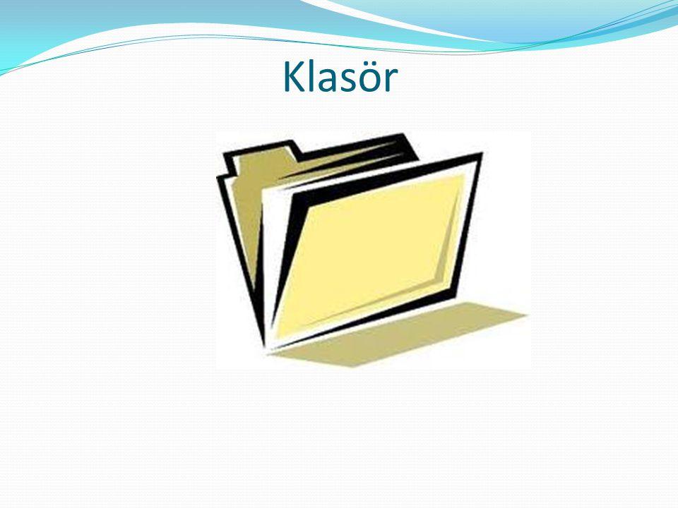 Klasör