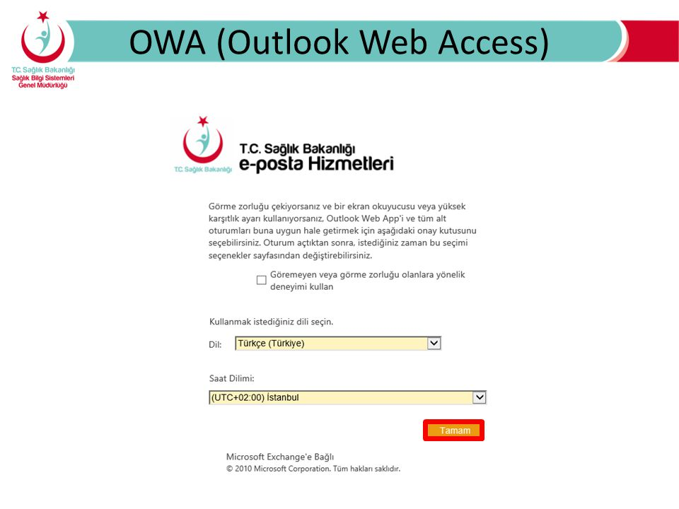 OWA (Outlook Web Access)