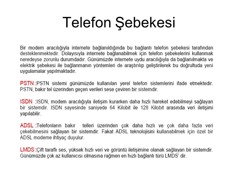 Telefon Şebekesi