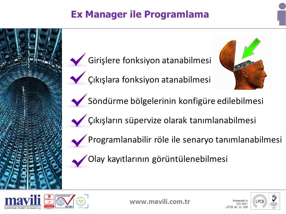 Ex Manager ile Programlama