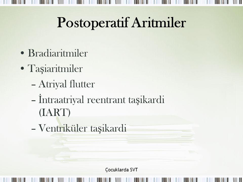 Postoperatif Aritmiler