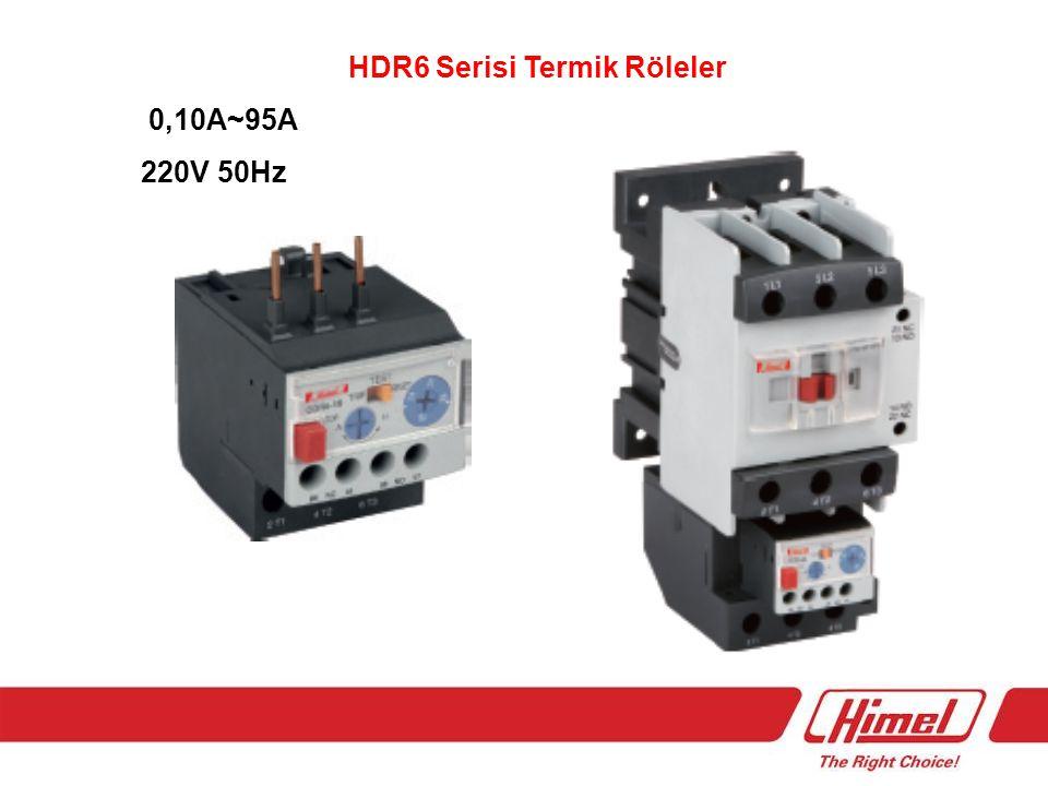 HDR6 Serisi Termik Röleler