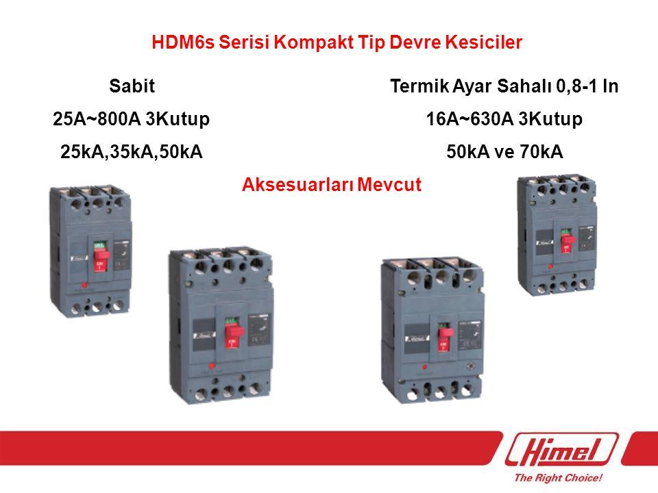 HDM6s Serisi Kompakt Tip Devre Kesiciler