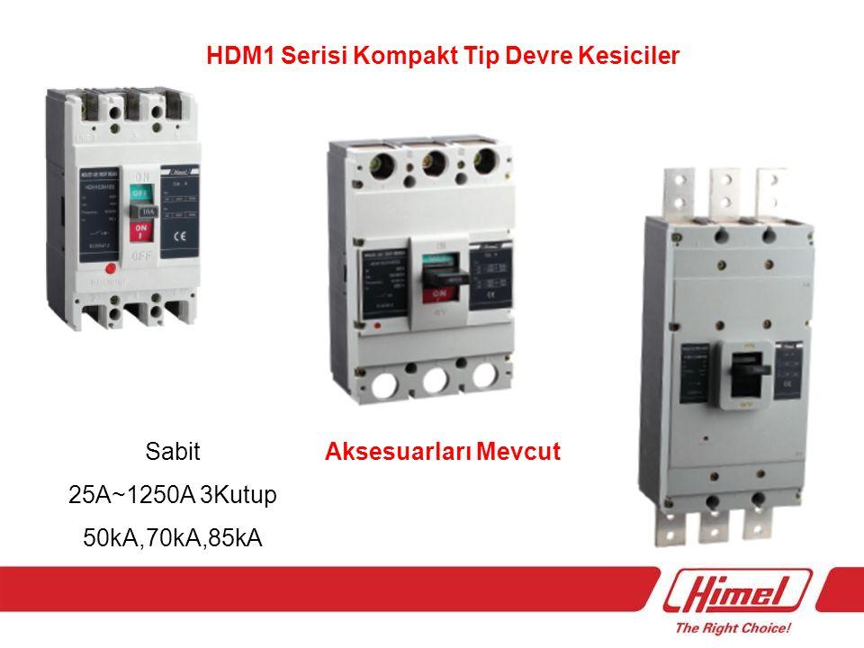 HDM1 Serisi Kompakt Tip Devre Kesiciler