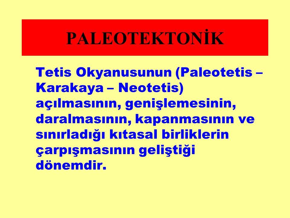 PALEOTEKTONİK