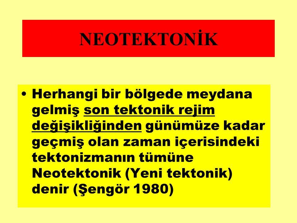 NEOTEKTONİK