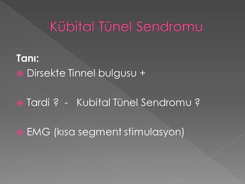 Kübital Tünel Sendromu