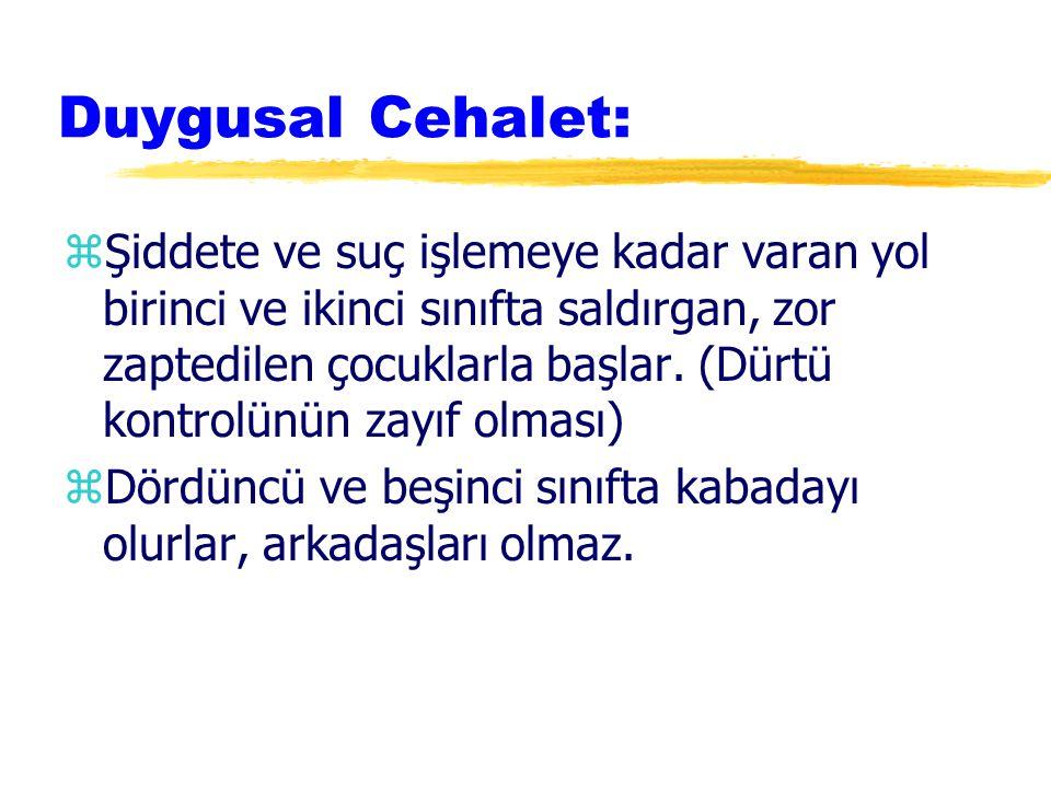 Duygusal Cehalet: