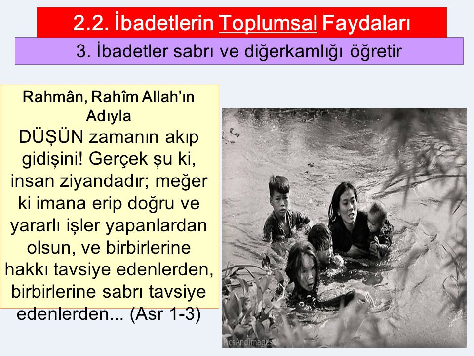 2.2. İbadetlerin Toplumsal Faydaları