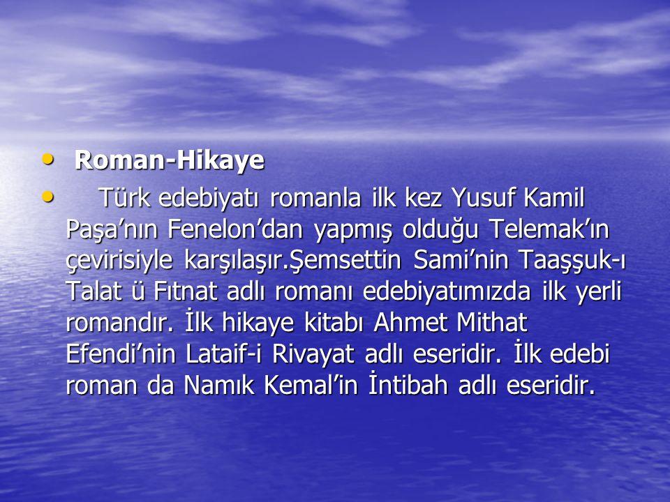 Roman-Hikaye