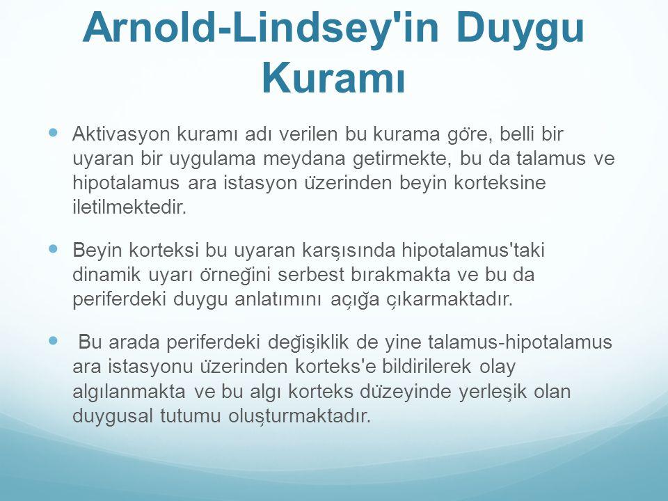 Arnold-Lindsey in Duygu Kuramı