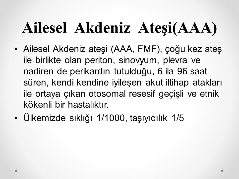 Ailesel Akdeniz Ateşi(AAA)
