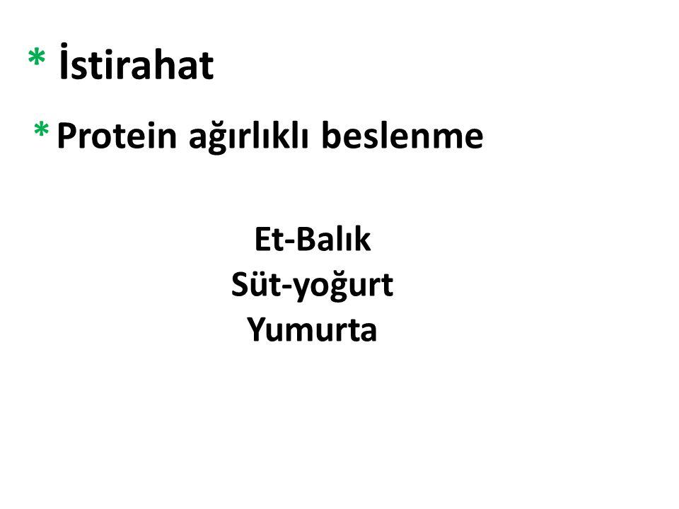 Et-Balık Süt-yoğurt Yumurta
