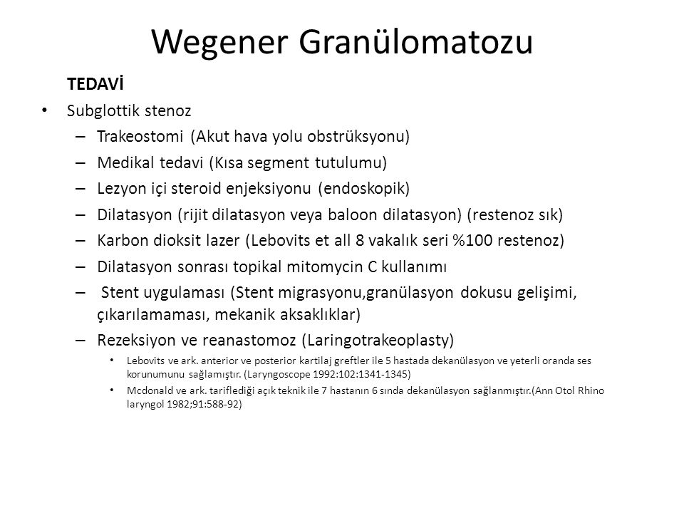 Wegener Granülomatozu