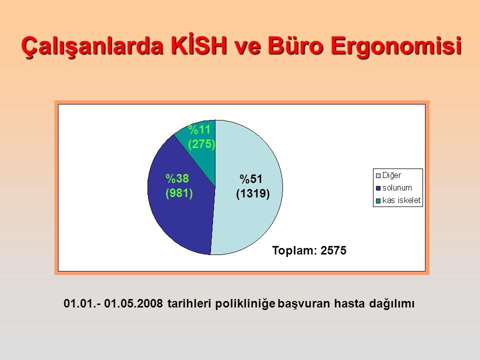 %11 (275) %38. (981) %51. (1319) Toplam: 2575.