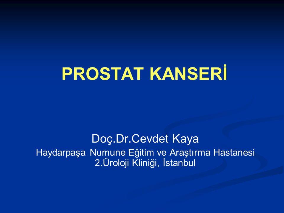 PROSTAT KANSERİ Doç.Dr.Cevdet Kaya