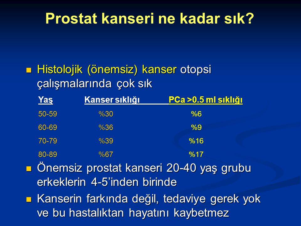 Prostat kanseri ne kadar sık