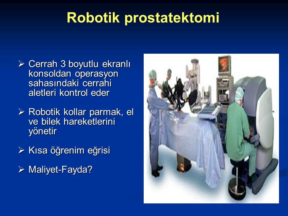 Robotik prostatektomi