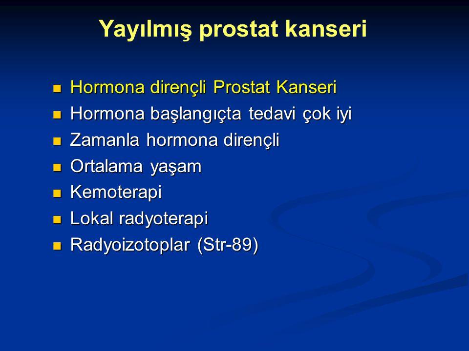 Yayılmış prostat kanseri
