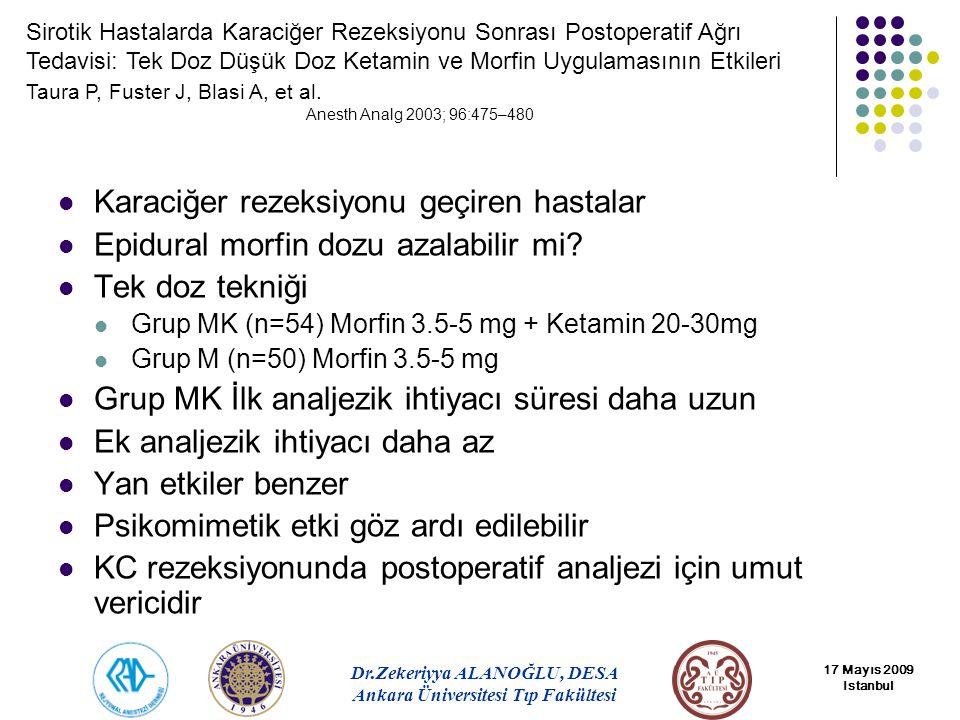Karaciğer rezeksiyonu geçiren hastalar