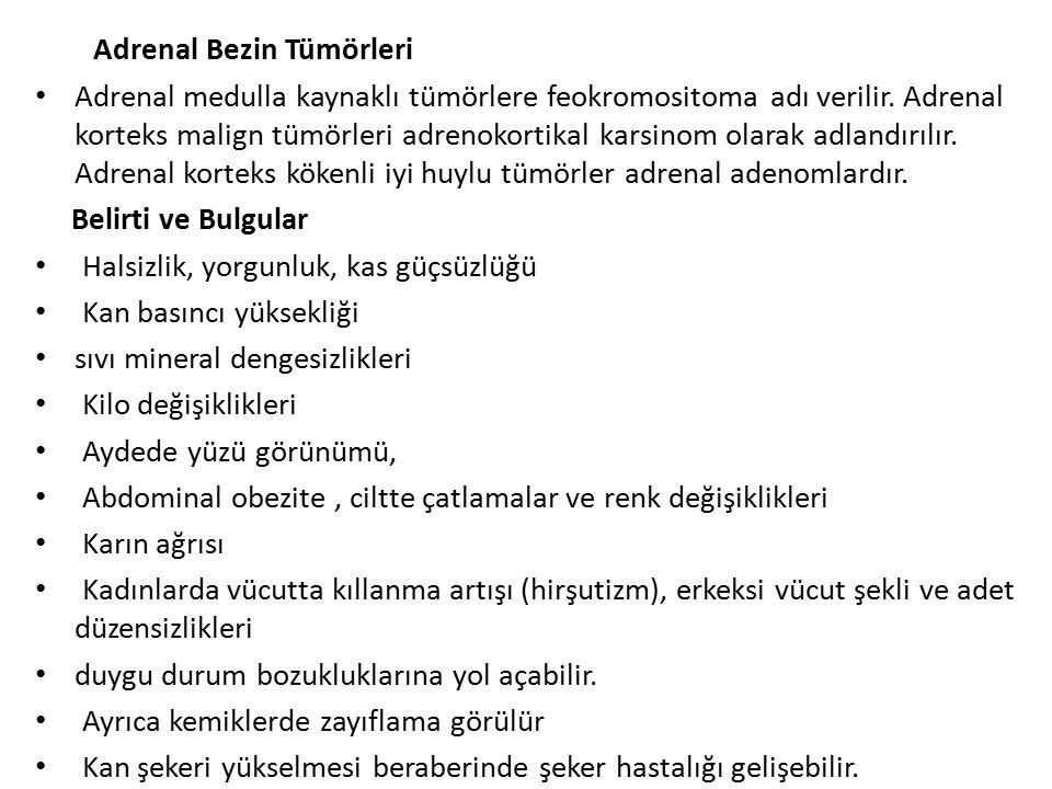 Adrenal Bezin Tümörleri