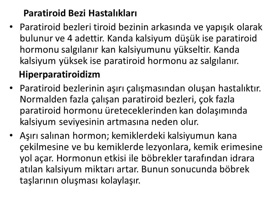 Paratiroid Bezi Hastalıkları