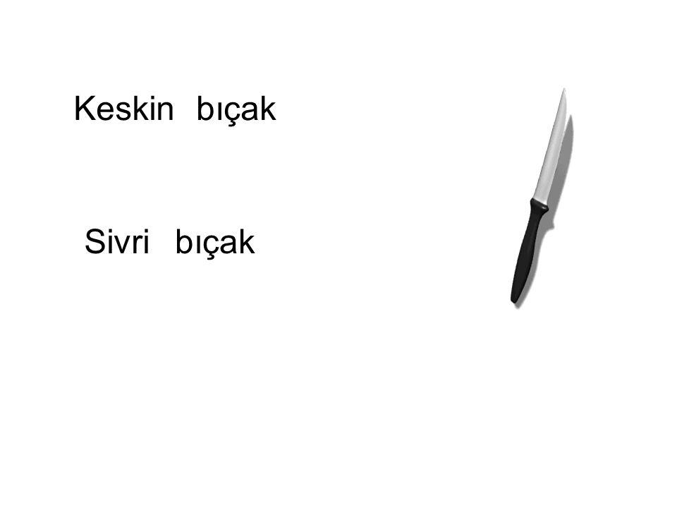 Keskin bıçak Sivri bıçak sivri bıçak