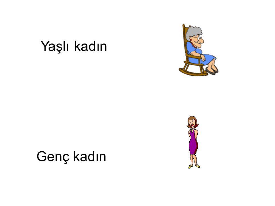 Yaşlı kadın Genç kadın Genç kadın