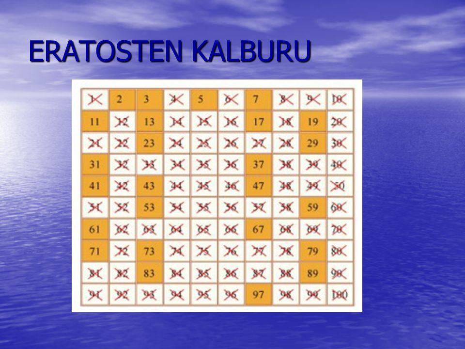 ERATOSTEN KALBURU