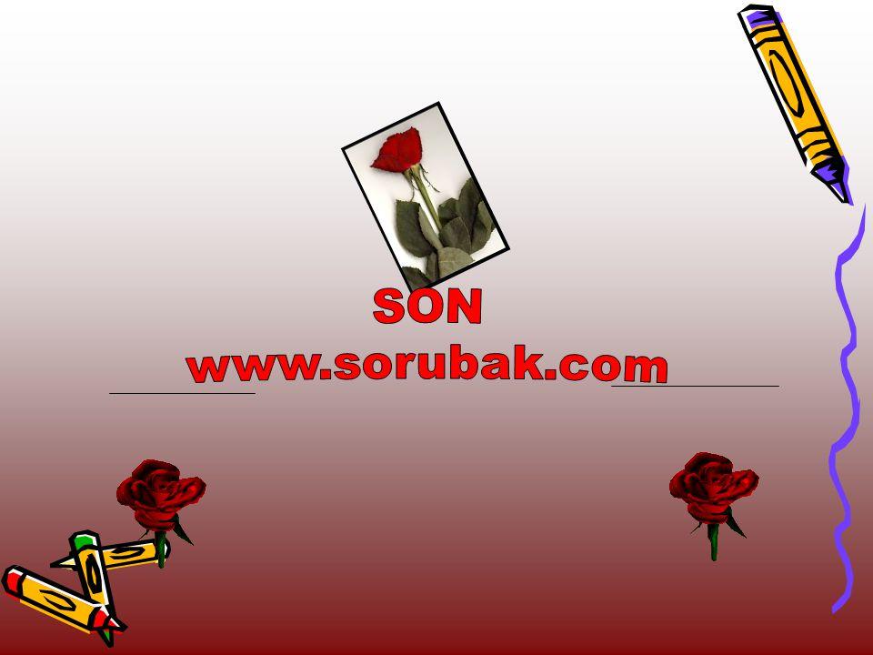 SON www.sorubak.com