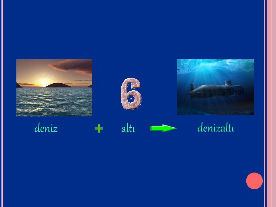 deniz altı denizaltı
