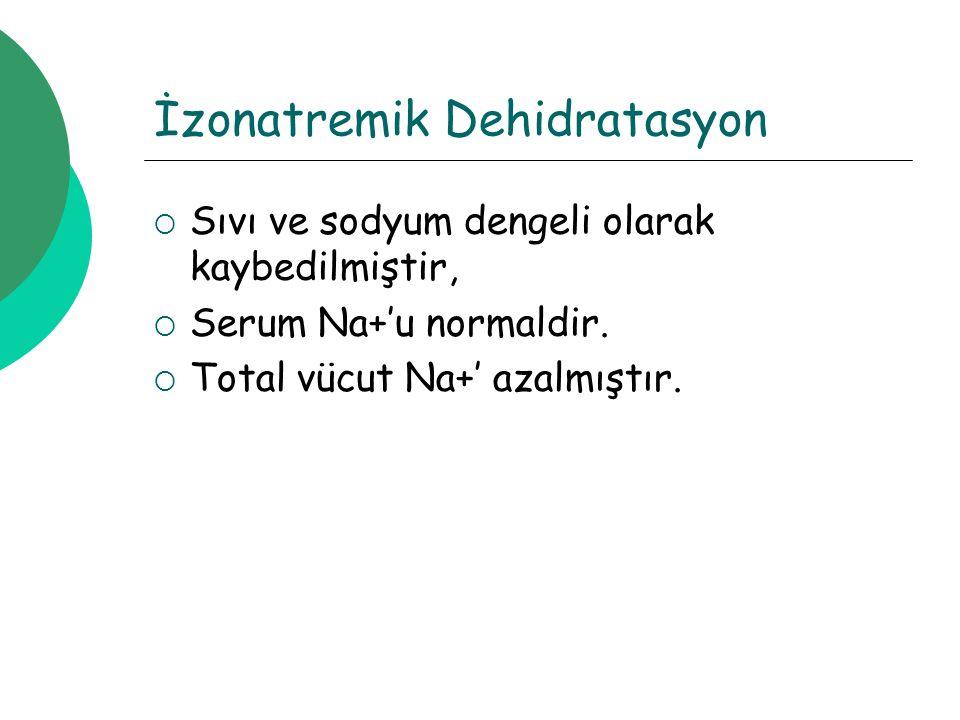 İzonatremik Dehidratasyon