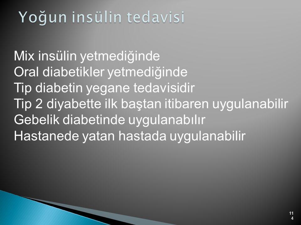 Yoğun insülin tedavisi