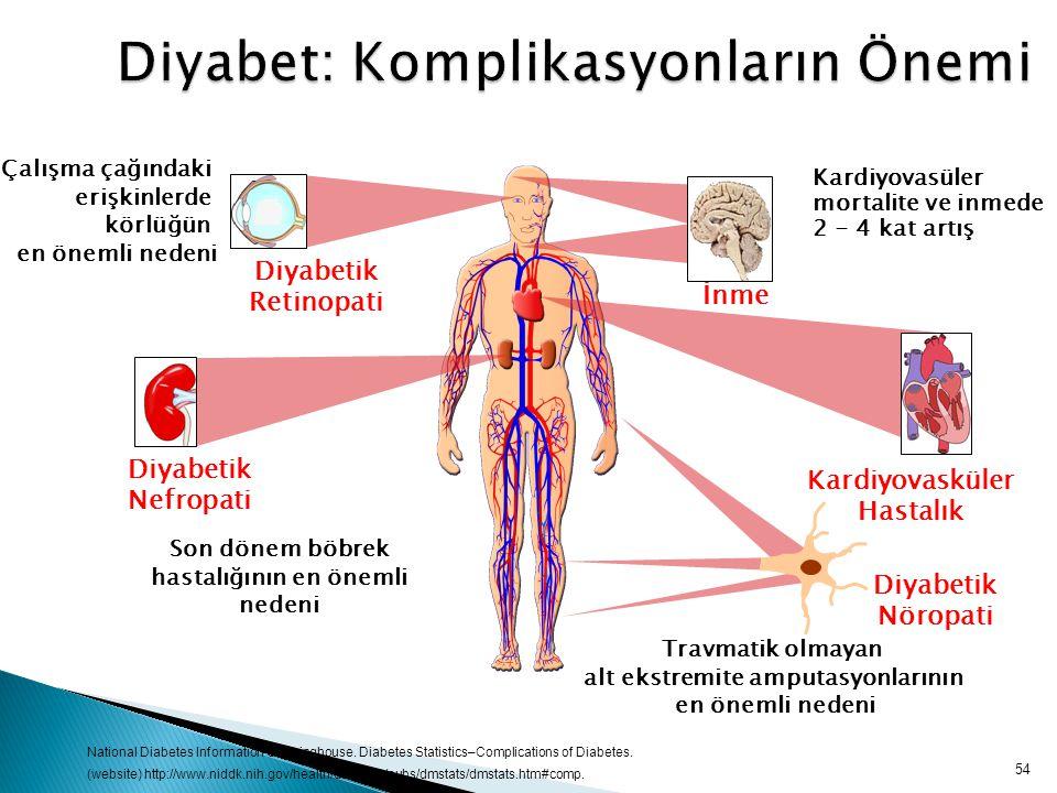 Diyabet: Komplikasyonların Önemi