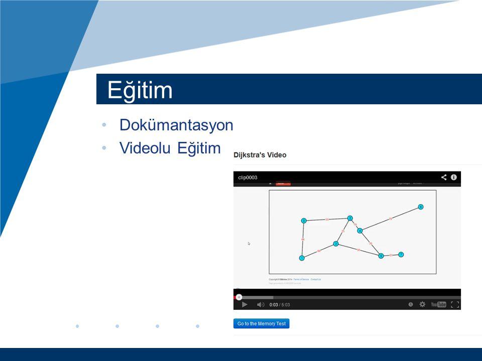 Eğitim Dokümantasyon Videolu Eğitim