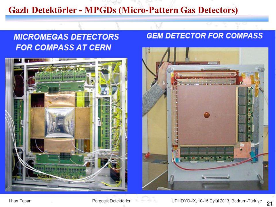 Gazlı Detektörler - MPGDs (Micro-Pattern Gas Detectors)