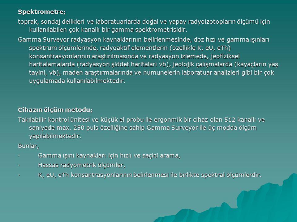 Spektrometre;
