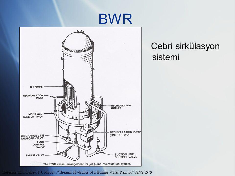 BWR Cebri sirkülasyon sistemi