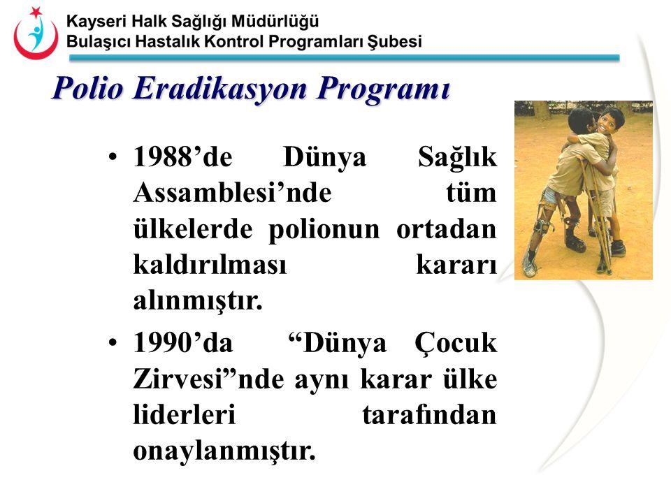 Polio Eradikasyon Programı