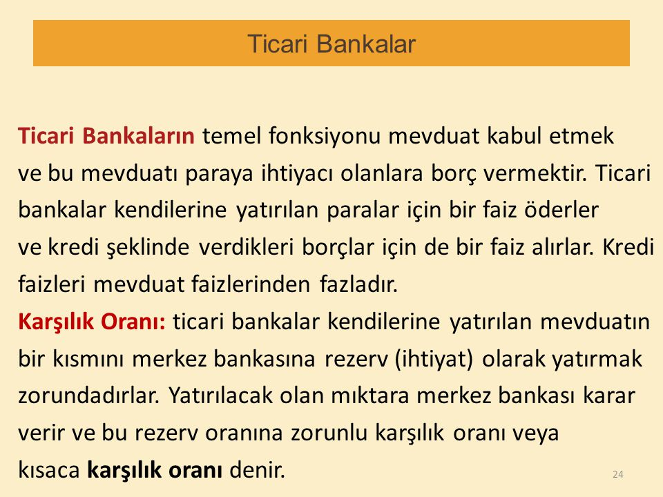 Ticari Bankalar