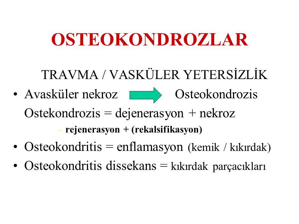 TRAVMA / VASKÜLER YETERSİZLİK