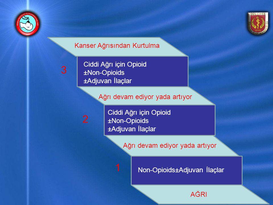 Non-Opioids±Adjuvan İlaçlar