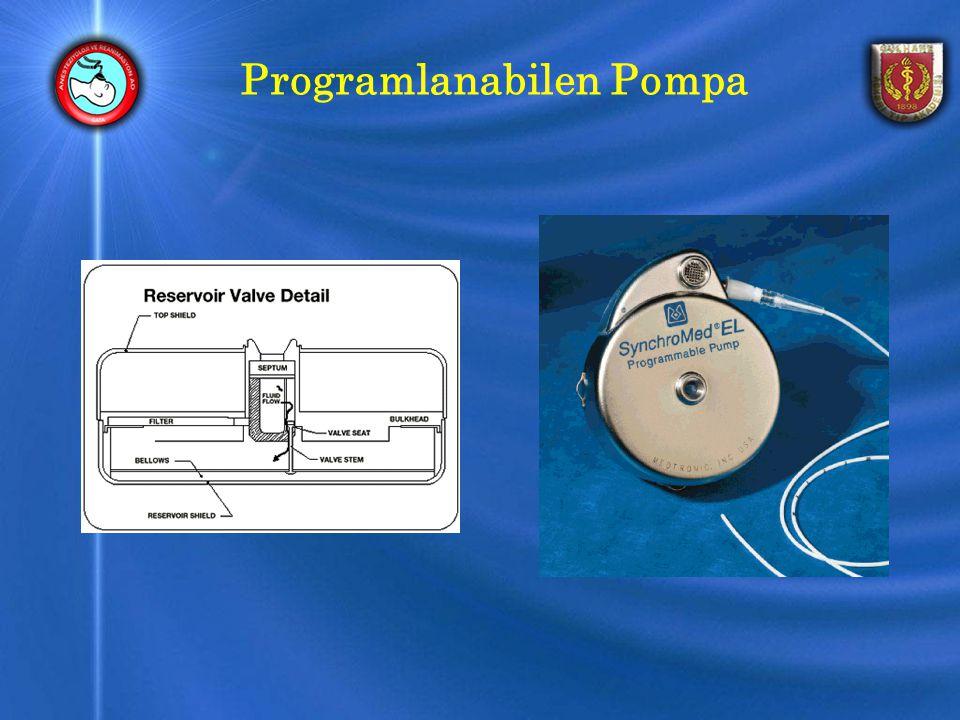 Programlanabilen Pompa