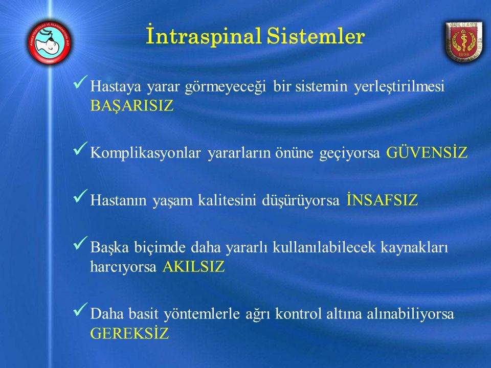 İntraspinal Sistemler
