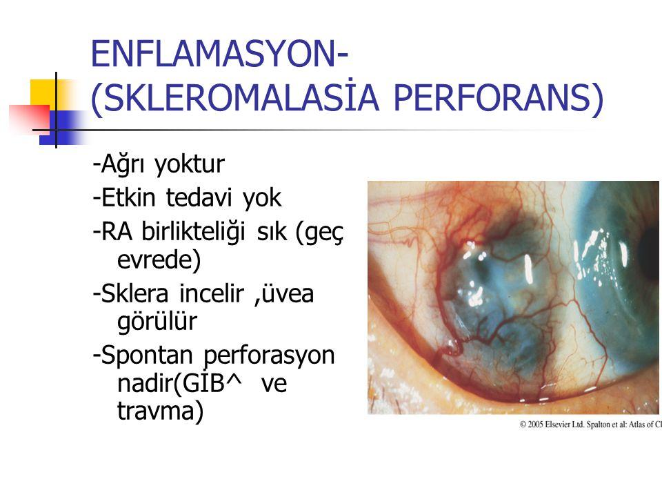 ENFLAMASYON- (SKLEROMALASİA PERFORANS)