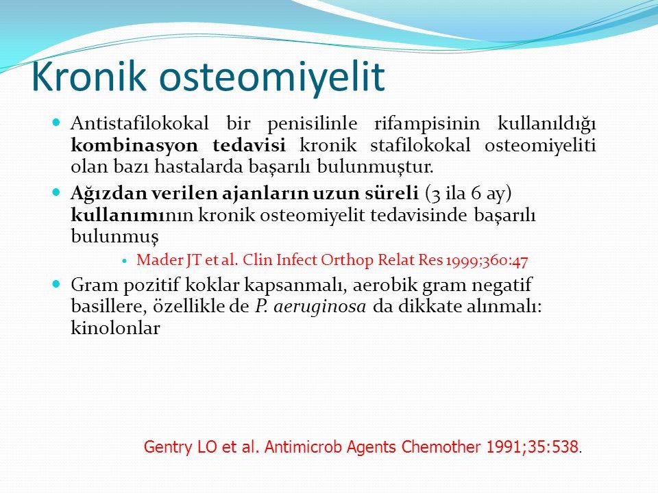 Kronik osteomiyelit