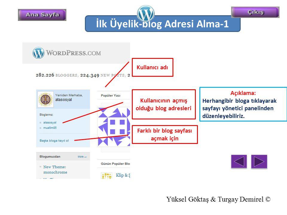 İlk Üyelik-blog Adresi Alma-1